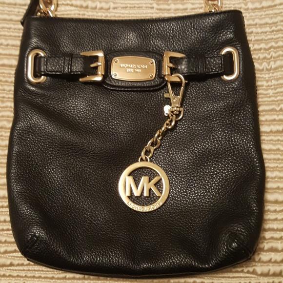 1b4f21c47836 Michael Kors leather crossbody bag. M_5a57e5429a94552303001aba